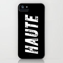 Haute (High) inverse iPhone Case