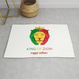 Reggae Lion Zion Rug