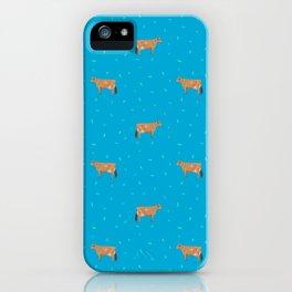 Jerseys // Blue iPhone Case