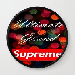 Ultimate Grand Supreme Wall Clock