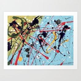 Just Abstract Art Print