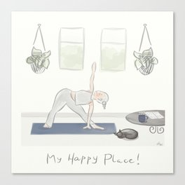 My Happy Place! Canvas Print