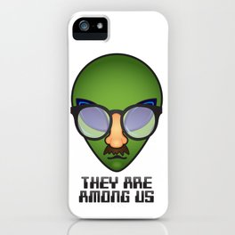 They Are Among Us iPhone Case