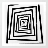 illusion Art Prints featuring Illusion by Janet Datu