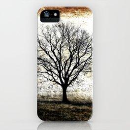 One Fog Tree Warm iPhone Case