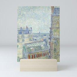 Van Gogh - View from Theo's Apartment, 1887 Mini Art Print