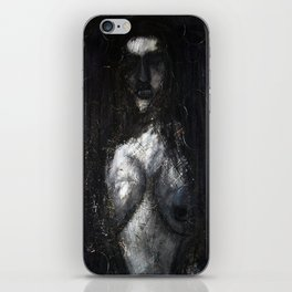 HOT VAMPIRE WITH IMPLANTS iPhone Skin
