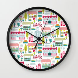 4th Saturday of the Month - Brigg Farmers Market Wall Clock