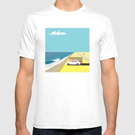 Mar de Cortez (square) T-shirt