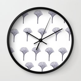 Ginkgo Wall Clock