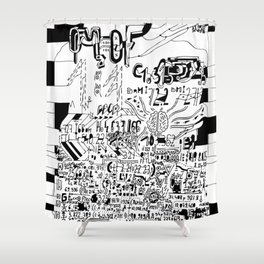 Prospectus, page one Shower Curtain