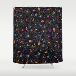 Mother board Shower Curtain