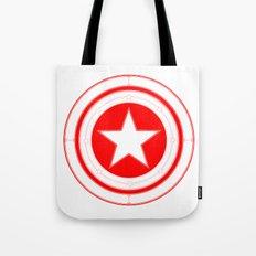 Capitaine Amérique Tote Bag