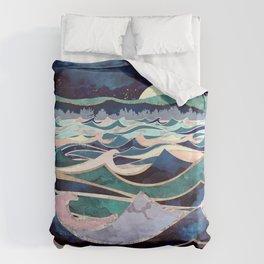 Moonlit Ocean Bettbezug