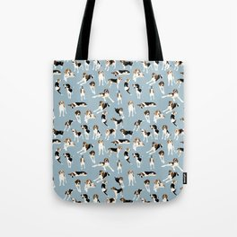 Tree Walker Coonhounds Pattern Tote Bag