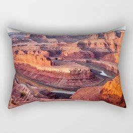Dead Horse Point Sunrise Rectangular Pillow