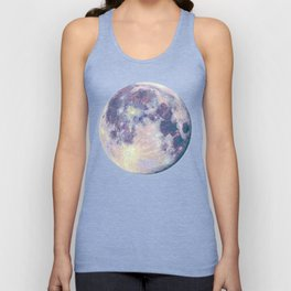 Blue moon Unisex Tank Top