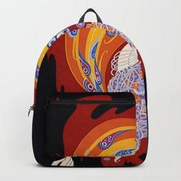 "Art Deco Design ""Oriental Tale"" Backpack"