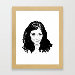 Pure Heroine Framed Art Print