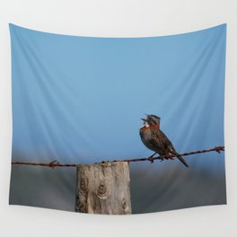 Singing out loud!! Wall Tapestry