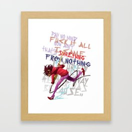 You are my fuse Framed Art Print