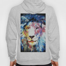 Colorful African Lion Hoody