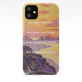 Sunset in the Sky with Diamonds iPhone Case