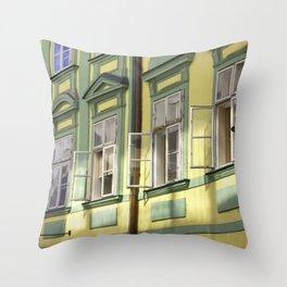 European Windows Throw Pillow