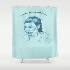 Kim K  Shower Curtain