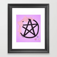 Charm Me Framed Art Print