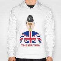 british flag Hoodies featuring The British by Dano77