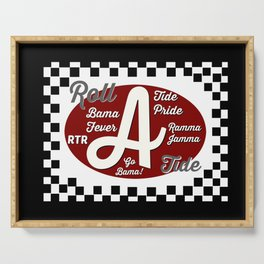 Roll Tide! Serving Tray