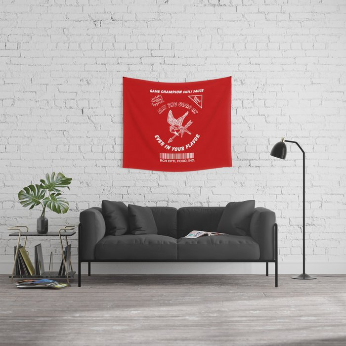 May The Odds Be Ever In Your Flavor Wall Tapestry