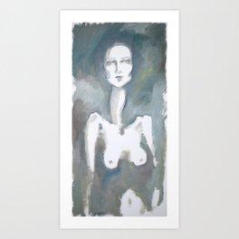 Surfacing Art Print