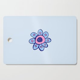 childish flower 1 Cutting Board