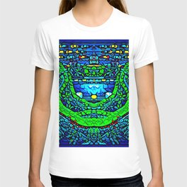 Nature and humanity T-shirt