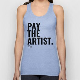 Pay The Artist Unisex Tank Top