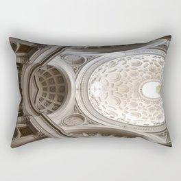 Fight to the top Rectangular Pillow