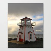 lighthouse Canvas Prints featuring Lighthouse by Sartoris ART