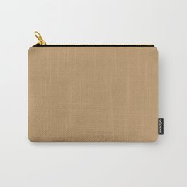 Wood brown - solid color Carry-All Pouch