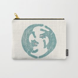Asiatic Tigers Carry-All Pouch
