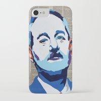 bill murray iPhone & iPod Cases featuring Bill Murray by VenusArtist