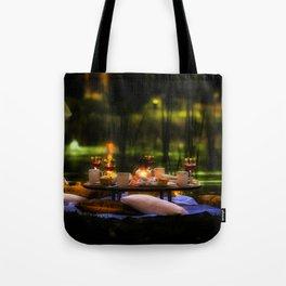 Candlelight Setting Tote Bag
