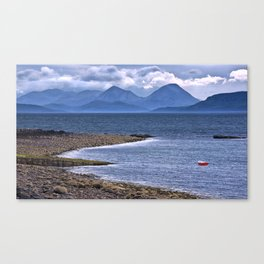Over the Sea to Skye Canvas Print