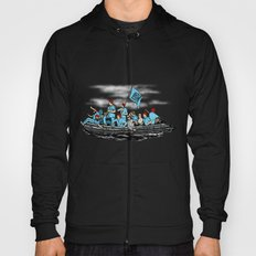 Team Zissou Crossing the Delaware Hoody