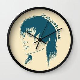 JULIAN CASABLANCAS Wall Clock