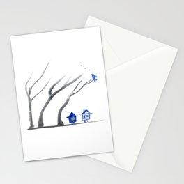 Little Hut Smoking Stationery Cards