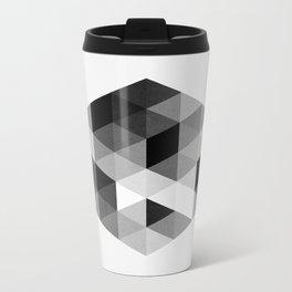 Geo Hex 02. Metal Travel Mug