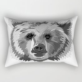 BEAR CUBISM Rectangular Pillow