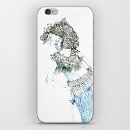 Water woman iPhone Skin